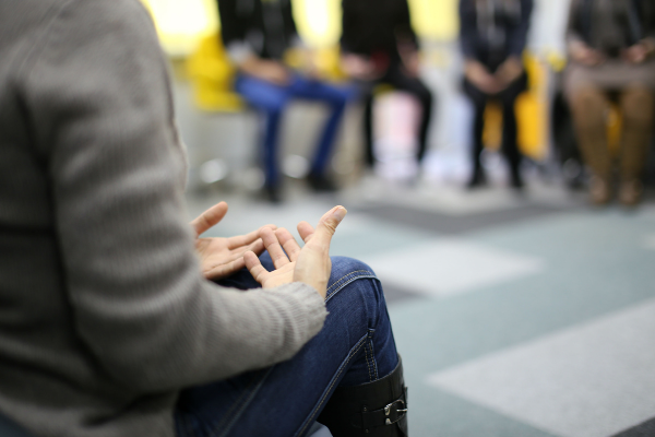 group therapy discussion